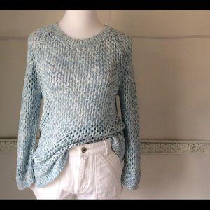 Gap Blue Chunky Knit Sweater